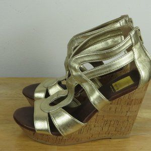 dolce vita shoes wedge Heel Size 6 M